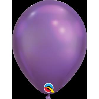 """07"""" Chrome 100 unid Purple"""