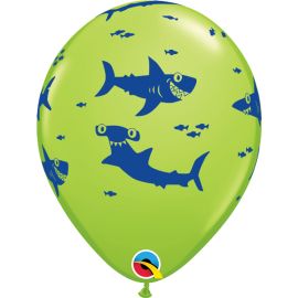 "11"" Fun Sharks! (Minimo 25 Unid)"