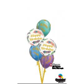 "18"" Birthday Peacok Feathers (Minimo 3 unid)"