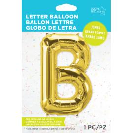"34"" Letra B Gold (86cm) (Minimo 1 unid)"