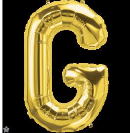 "34"" Letra G Gold (86cm) (Minimo 1 unid)"