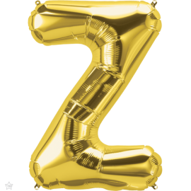 "34"" Letra Z Gold (86cm) (Minimo 1 unid)"