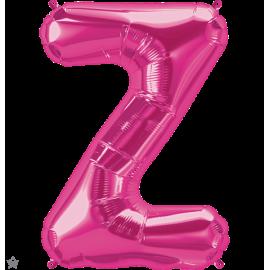 """34"""" Letra Z Magenta (86cm) (Minimo 1 unid)"""