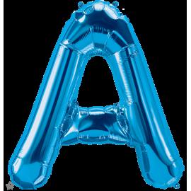 "34"" Letra A Blue (86cm) (Minimo 1 unid)"