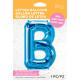 """34"""" Letra B Blue (86cm) (Minimo 1 unid)"""