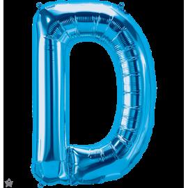 """34"""" Letra D Blue (86cm) (Minimo 1 unid)"""