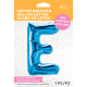 """34"""" Letra E Blue (86cm) (Minimo 1 unid)"""