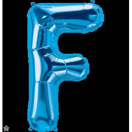 "34"" Letra F Blue (86cm) (Minimo 1 unid)"