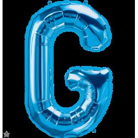 "34"" Letra G Blue (86cm) (Minimo 1 unid)"