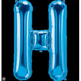 "34"" Letra H Blue (86cm) (Minimo 1 unid)"