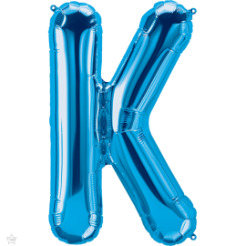 "34"" Letra K Blue (86cm) (Minimo 1 unid)"