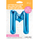 "34"" Letra M Blue (86cm) (Minimo 1 unid)"
