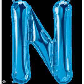 """34"""" Letra N Blue (86cm) (Minimo 1 unid)"""