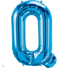 "34"" Letra Q Blue (86cm) (Minimo 1 unid)"