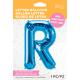 "34"" Letra R Blue (86cm) (Minimo 1 unid)"