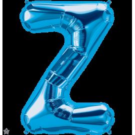 "34"" Letra Z Blue (86cm) (Minimo 1 unid)"