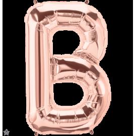 "34"" Letra B Rose Gold (86cm) (Minimo 1 unid)"