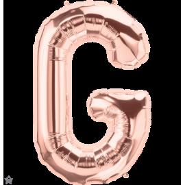 "34"" Letra G Rose Gold (86cm) (Minimo 1 unid)"