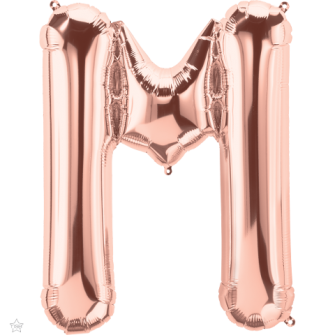 "34"" Letra M (86cm) (Minimo 1 unid)"