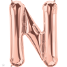 "34"" Letra N (86cm) (Minimo 1 unid)"