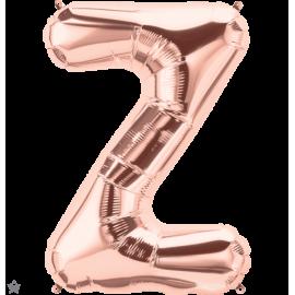 "34"" Letra Z Rose Gold (86cm) (Minimo 1 unid)"