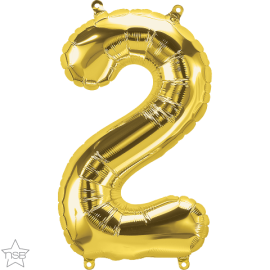 """16"""" Numero 2 Gold (41cm) (Minimo 3 unid)"""