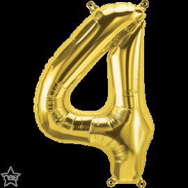 """16"""" Numero 4 Gold (41cm) (Minimo 3 unid)"""