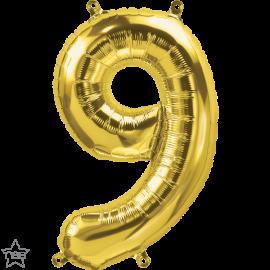 """16"""" Numero 9 Gold (41cm) (Minimo 3 unid)"""