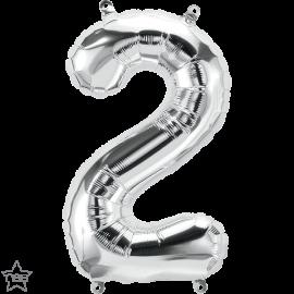 """16"""" Numero 2 Silver (41cm) (Minimo 3 unid)"""