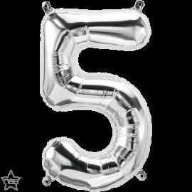 """16"""" Numero 5 Silver (41cm) (Minimo 3 unid)"""