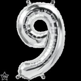 """16"""" Numero 9 Silver (41cm) (Minimo 3 unid)"""