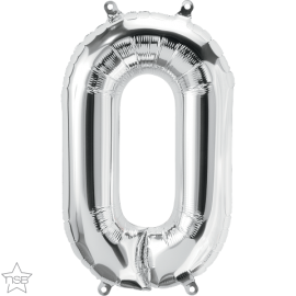 """16"""" Numero 0 Silver (40cm) (Minimo 3 unid)"""