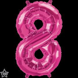 "16"" Numero 8 Magenta (41cm) (Minimo 3 unid)"