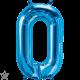 """16"""" Numero 0 Blue 40cm (minimo 3 unid)"""