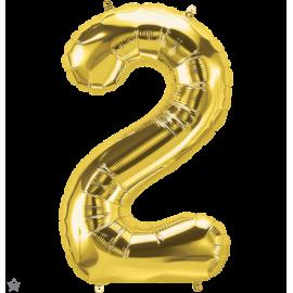 """34"""" Numero 2 Gold (86cm)"""