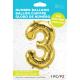 """34"""" Numero 3 Gold (86cm)"""