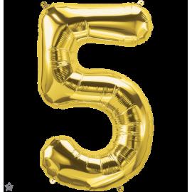"""34"""" Numero 5 Gold (86cm)"""