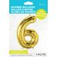 """34"""" Numero 6 Gold (86cm)"""