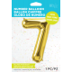 """34"""" Numero 7 Gold (86cm)"""