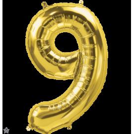 """34"""" Numero 9 Gold (86cm)"""