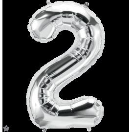 """34"""" Numero 2 Silver (86cm)"""