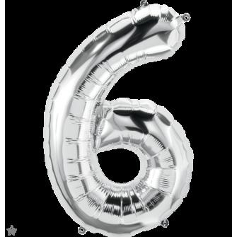 """34"""" Numero 6 Silver (86cm)"""