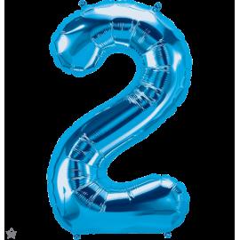 """34"""" Numero 2 Blue (86cm)"""