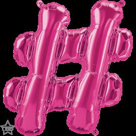 """16"""" Hashtag (41cm) Magenta (minimo 3 unid)"""