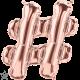 "16"" Hashtag (41cm) Rose Gold (minimo 3 unid)"