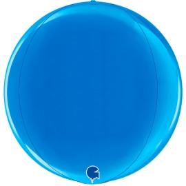 """15"""" Globe Esfera Blue 4d (38cm) (minimo 3 unid)"""