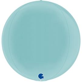 "15"" Globe Esfera Pastel Blue 4d (38cm) (minimo 3 unid)"