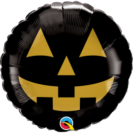 "18"" Jack Face Black & Gold (Minimo 3 undi)"