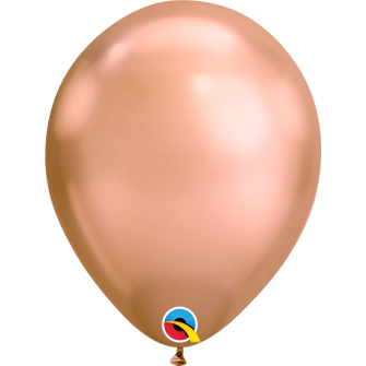 "11"" Chrome Rose Gold (25 unid)"