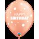 "11"" Birthday Big & Little Dots (Minimo 25ct )"